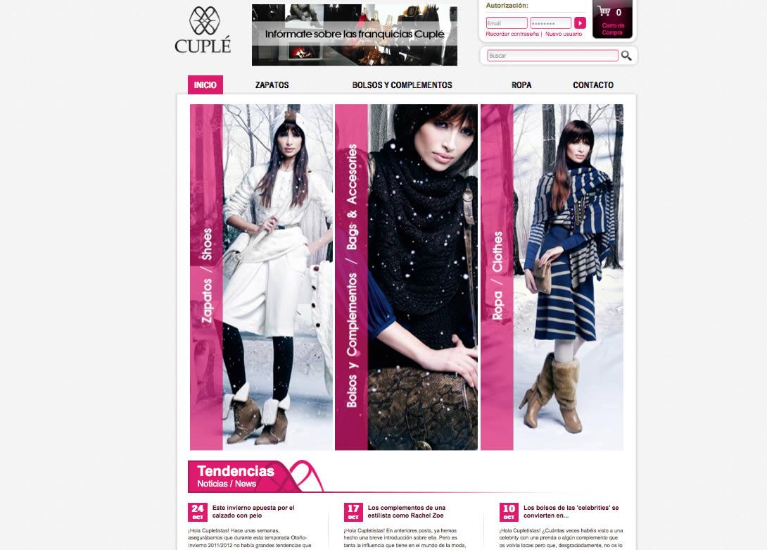 iconic comunicacion marketing publicidad alicante web tiendacuple Renovamos la tienda online de Cuplé