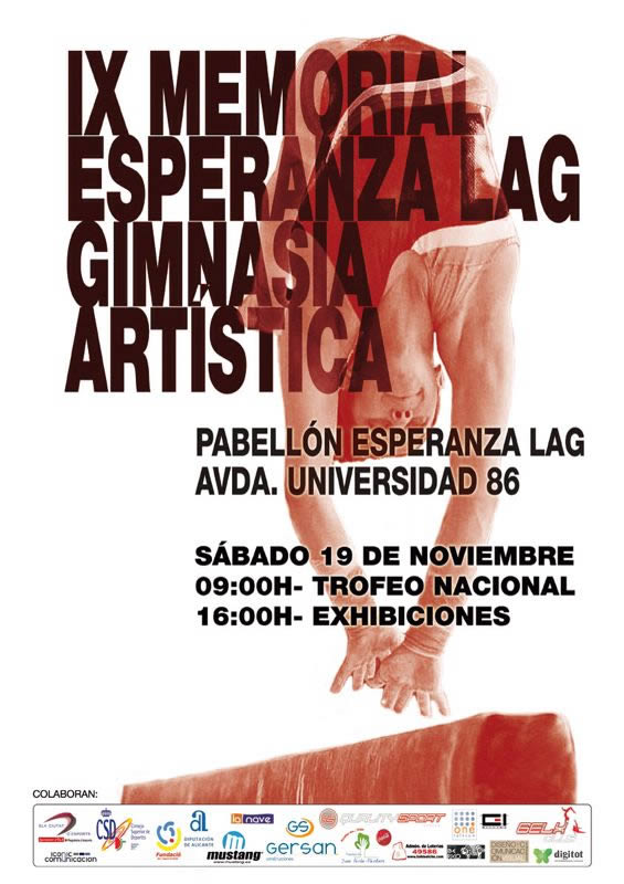 Imagen del cartel IX Memorial Esperanza Lag de Elche